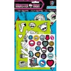 Набор для творчества Monster High. наклейки+раскраска