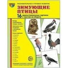 Набор Зимующие птицы (16 дем.карт.)