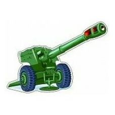 Плакат-мини  Пушка