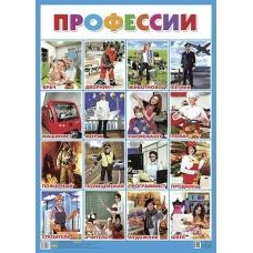 Плакат Профессии 550х770