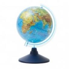 Глобус физический  15см, на круглой подставке