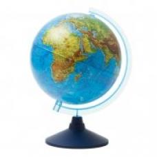 Глобус физический 25см, на круглой подставке