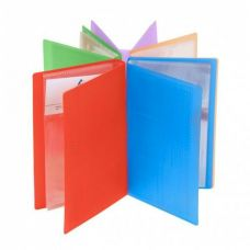 Визитница настольная  Crystal (60 карточек) пластик ассорти