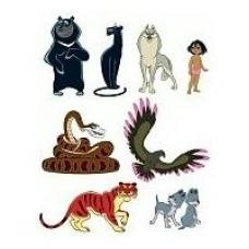 Комплект  Герои сказки Маугли 8 шт