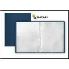 Папка с файлами 40 вклад. А4, 0.5 мм, синяя