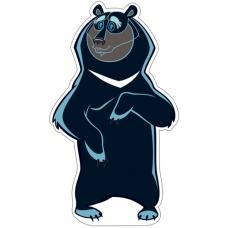 Плакат-мини  Медведь Балу (из мультфильма Маугли)